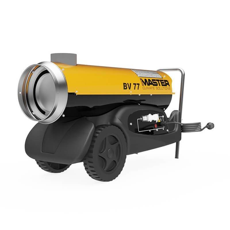 Master BV 77 (20 kW) oil heater with flue gas discharge MASTER