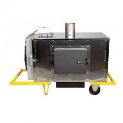 NPS 55 M nagrzewnica powietrza na paliwa stałe